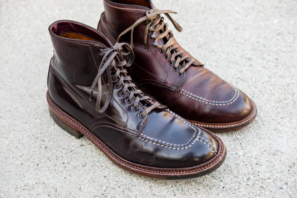 Alden 403 Indy Boot Brown Chromexcel 5 Year Review Aun