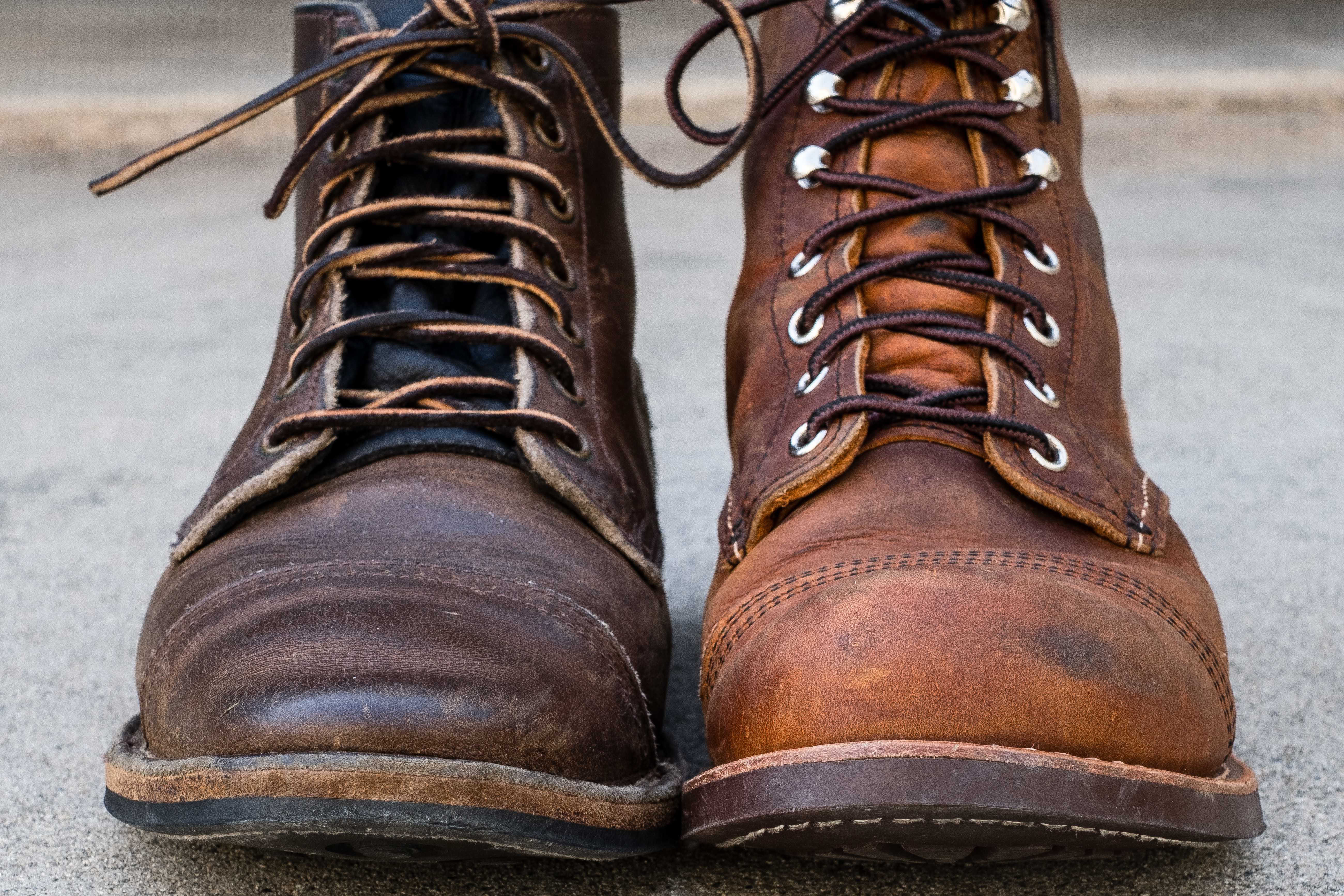 Red Wing 8085 Copper Rough Amp Tough Iron Ranger Review Vs